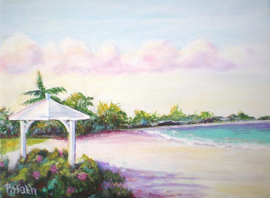 Beach Painting - Calabash Bay by Patricia Piffath