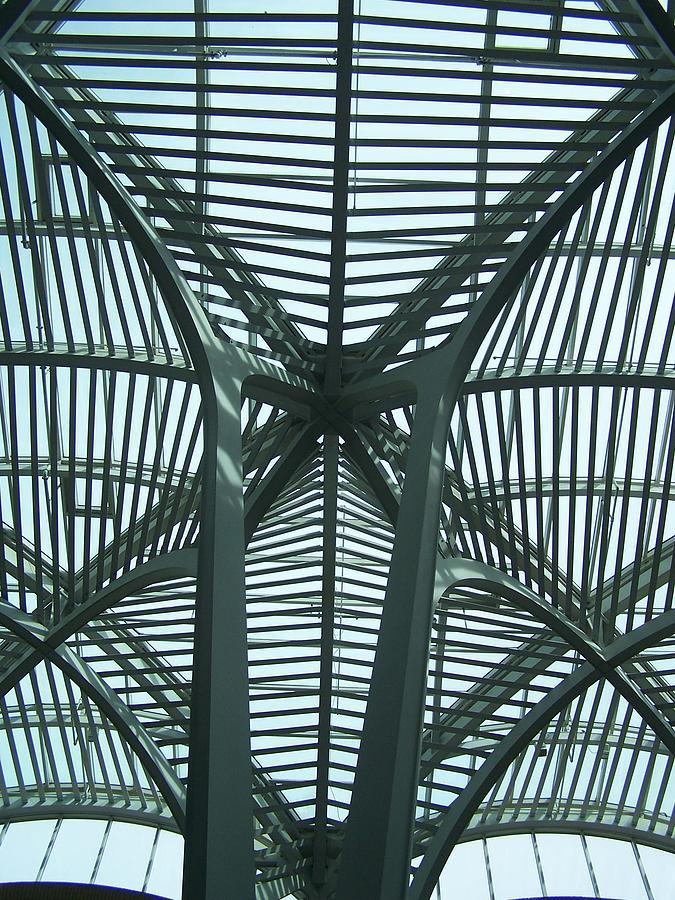 Abstract Photograph - Calatrava Abstract by Geraldine Liquidano