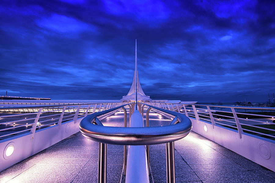 Calatrava in Blue by Edward Deiro