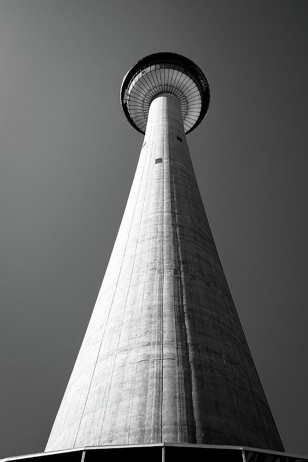 Calgary Tower from base by John McArthur