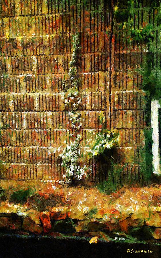 Landscape Painting - Calico Wall by RC DeWinter