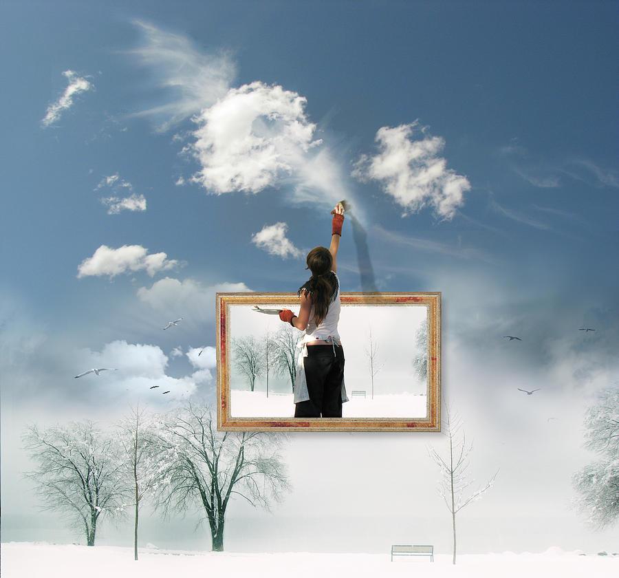 Manipulation Photograph - Califonia Dreaming  by John Poon