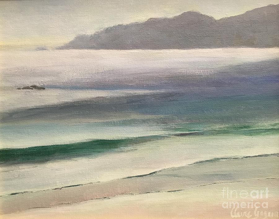 California Beach by Claire Gagnon