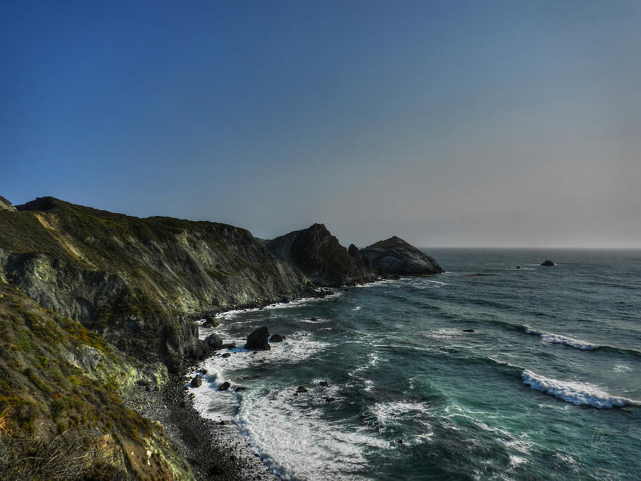 Big Sur Photograph - California - Big Sur 008 by Lance Vaughn
