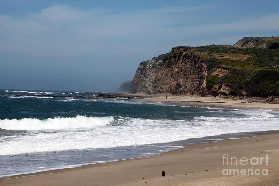 California Photograph - California Coast - Blue by Amanda Barcon