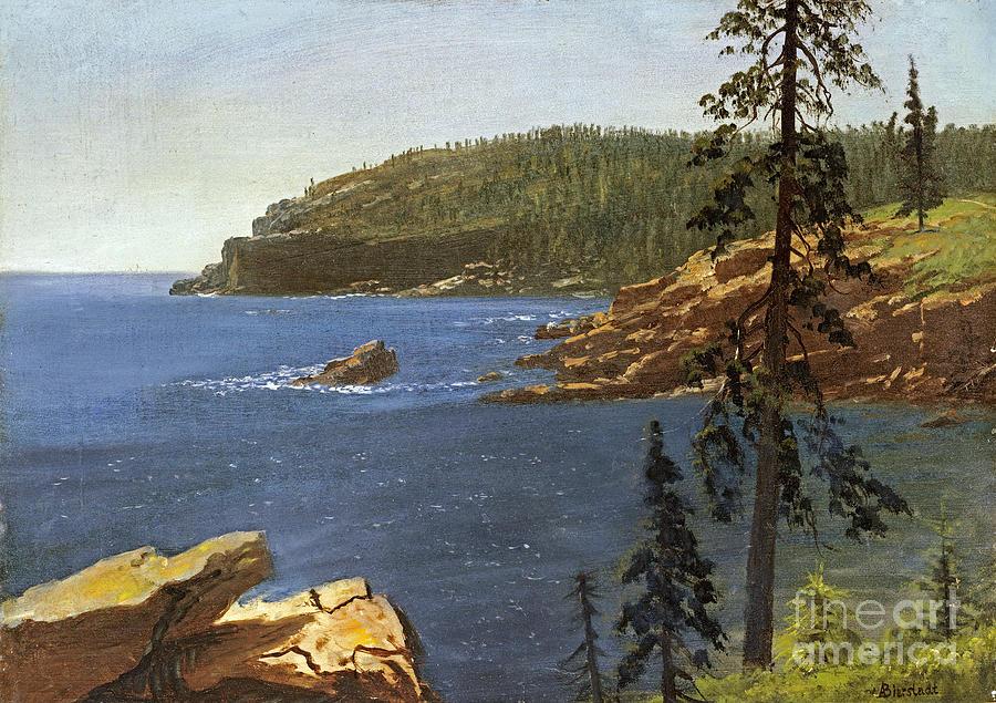 Albert Bierstadt Painting - California Coast by Celestial Images