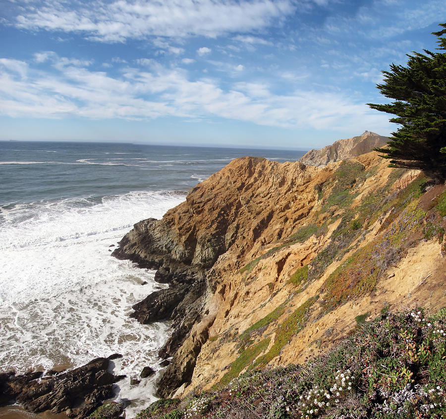Landscape Photograph - California Coast by Mary Lane