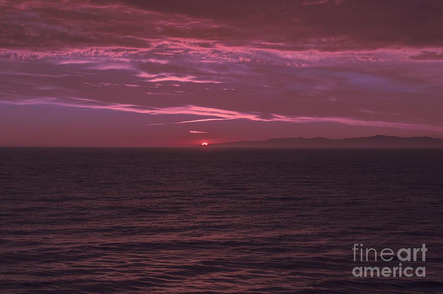 Beach Photograph - California Coastal Sunset 2 by Kevin McCall