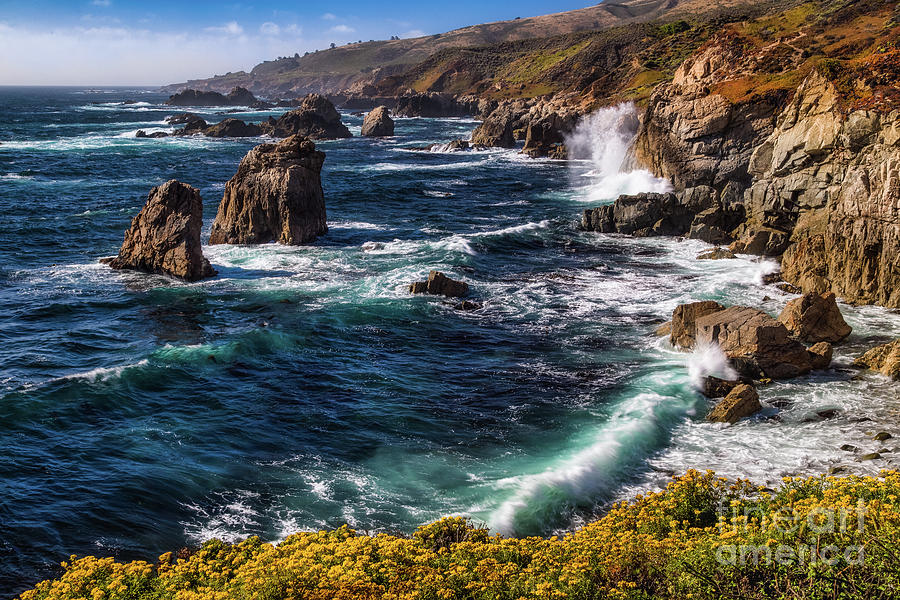 California Coastline by Anthony Michael Bonafede