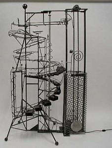 Rolling Ball Machine Sculpture - California Dreamin by Bruce Gray