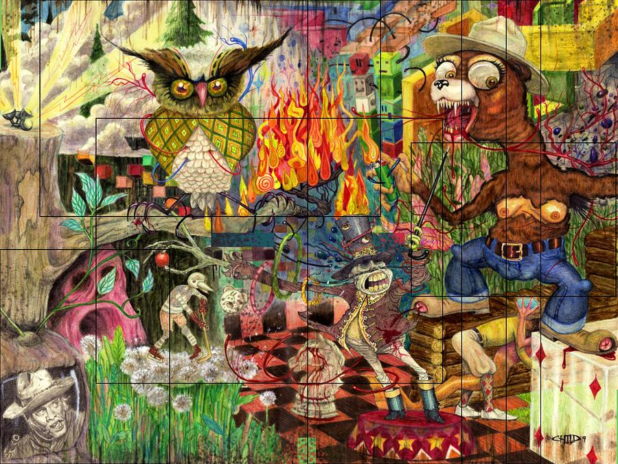California Mixed Media - California Dreaming by Brian Child