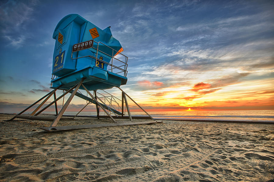 Sunset Photograph - California Dreaming by Larry Marshall