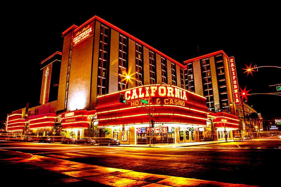 Las Vegas Photograph - California Hotel by Az Jackson
