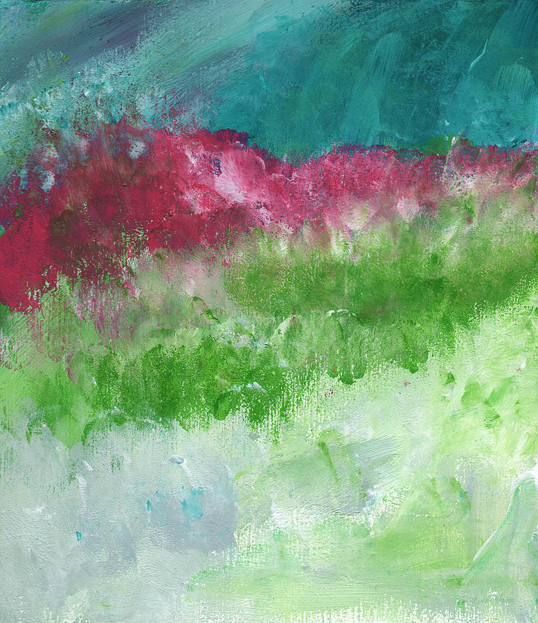Landscape Painting - California Landscape- Expressionist Art By Linda Woods by Linda Woods