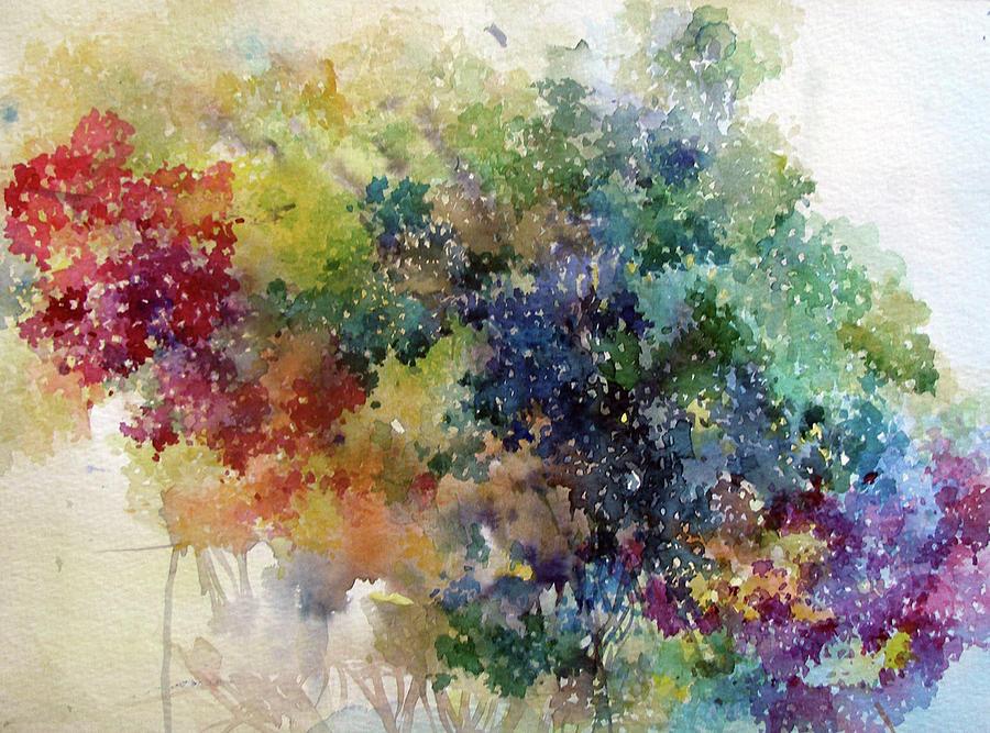Color Painting - California Spring by Natalia Eremeyeva Duarte