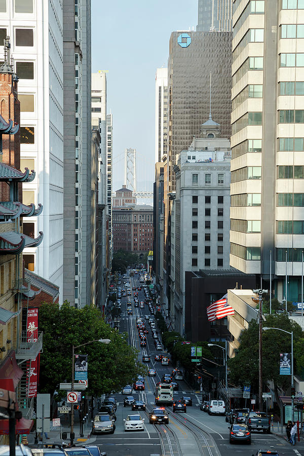 California Street San Francisco by Andy Myatt