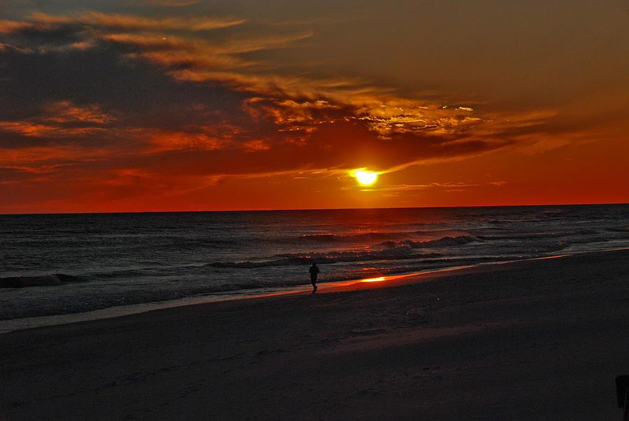 Sunset Photograph - California Sun by Susanne Van Hulst