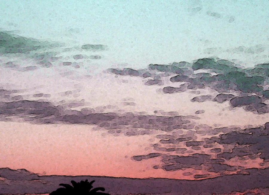 California Photograph - California Sunset - 1 by Sally Stevens