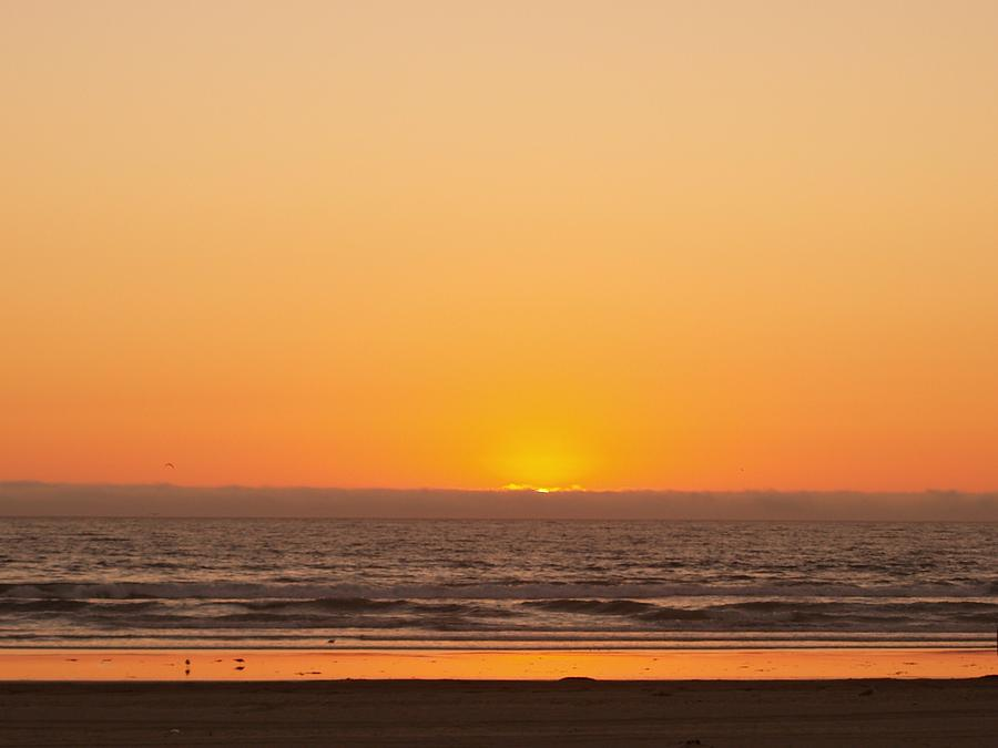 California Photograph - California Sunset by James Johnstone