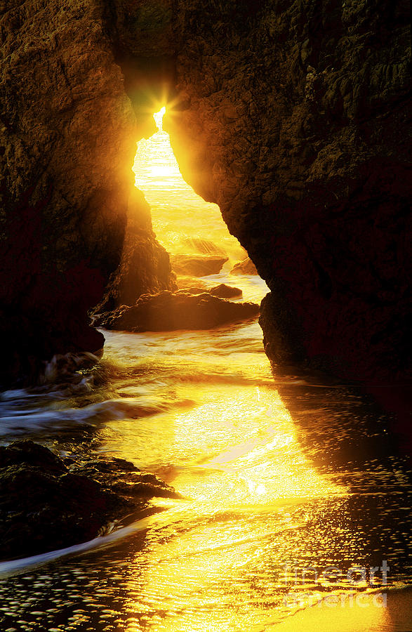 Beaches Photograph - Californias Gold by Greg Clure