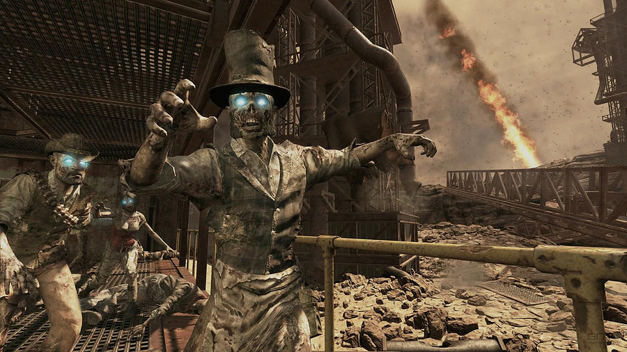 Statue Digital Art - Call Of Duty Black Ops by Dorothy Binder