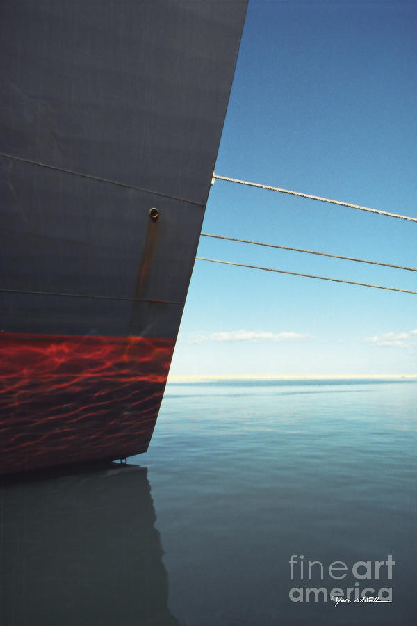 Cargo Photograph - Call Of The Distant Shores by Marc Nader