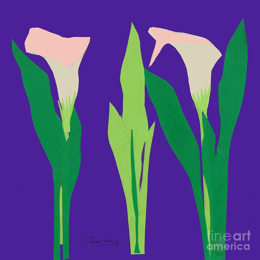 Calla Lilies by Fran Henig