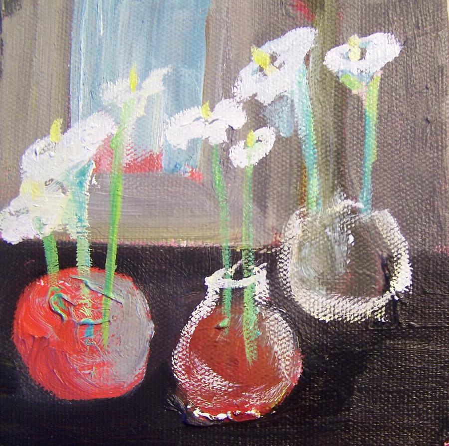 Calla Lilly Painting - calla lilly for Jess by Geraldine Liquidano