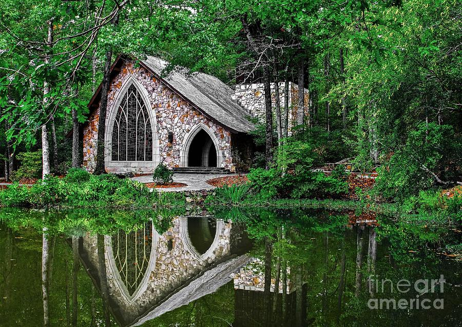 Callaway Gardens Ida Cason Chapel Photograph By John Roberts