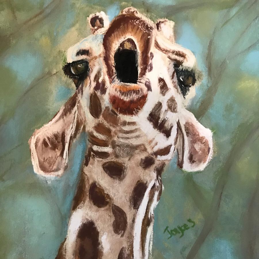 Calling all Giraffes by Joyce Spencer