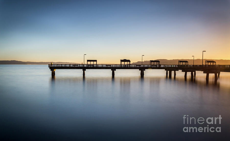 Calm Morning At The Pier by Sal Ahmed