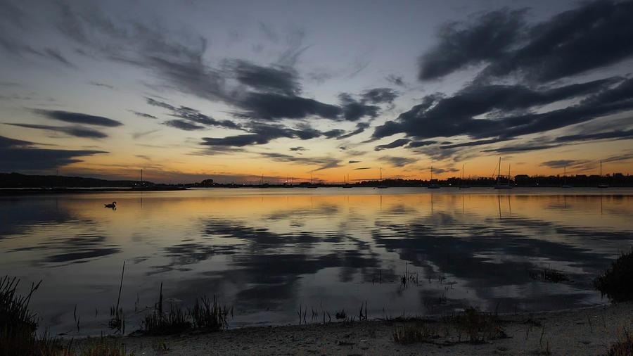 Calm Photograph - Calm Of Dusk by Roderick Breem