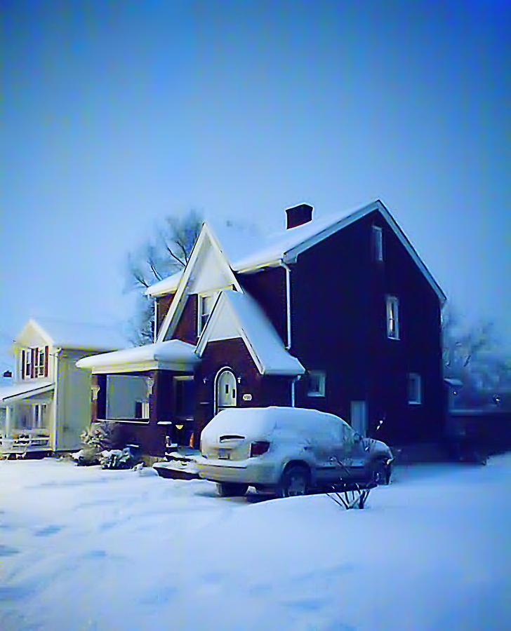 House Photograph - Calm Of Winter by John Toxey