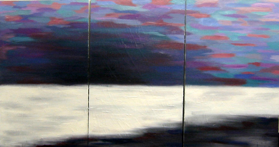 Landscape Painting - Calm Passion No.1 by Michelle Meyer