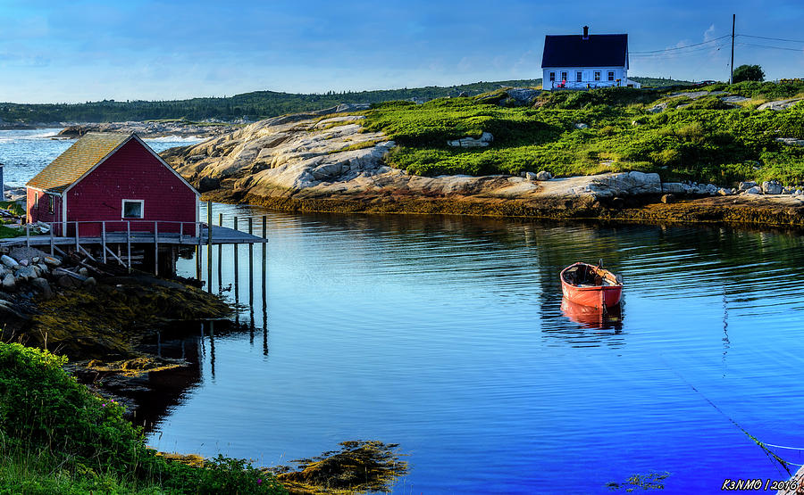 Peggys Cove Photograph - Calm Water At Peggys Cove #3 by Ken Morris