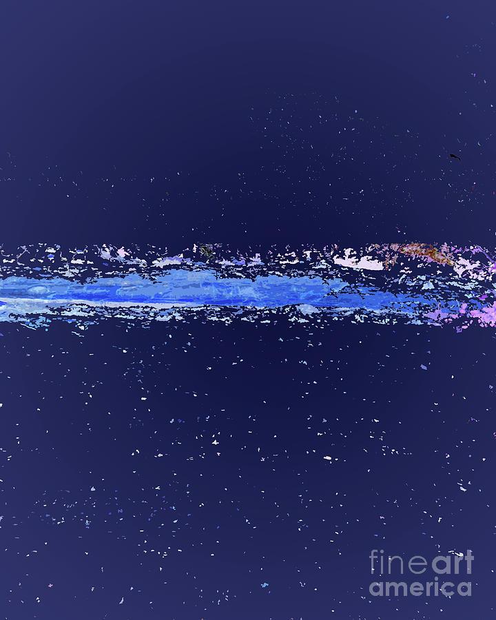 Blues Digital Art - Calmly Cruising Through The Universe by Hilton McLaurin