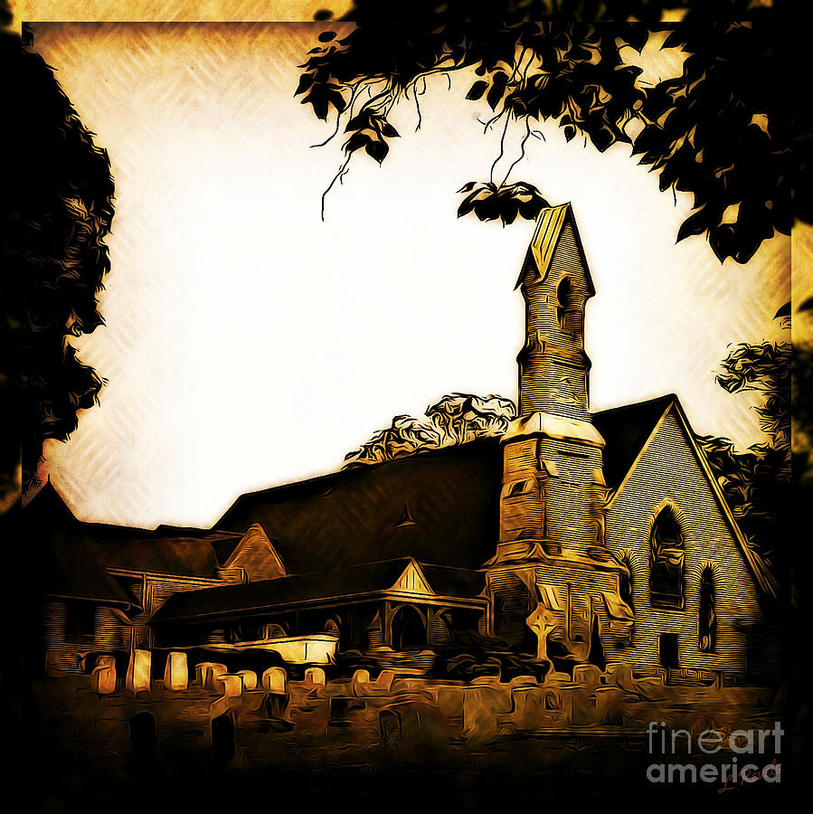Calvary Episcopal Church by Leslie Revels