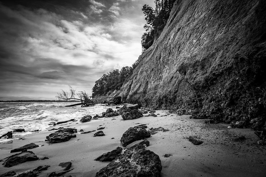 Travel Photograph - Calvert Cliffs II by Robert Davis
