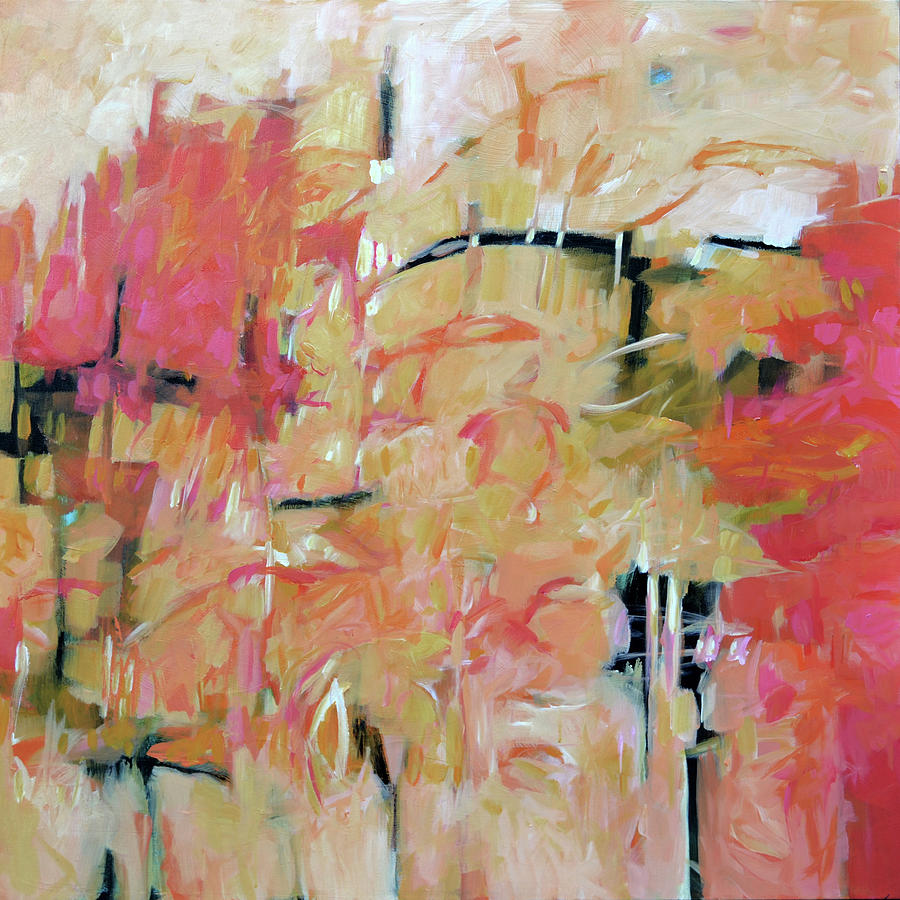 Abstract Painting - Calypso by Filomena Booth