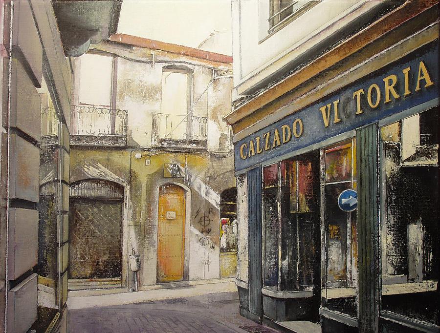 Victoria Painting - Calzados Victoria-leon by Tomas Castano