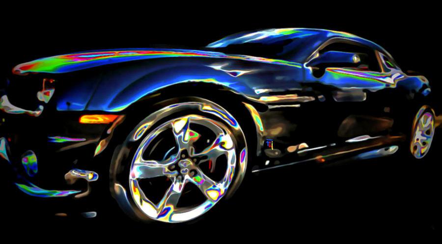 Camaro Digital Art by  Fli Art