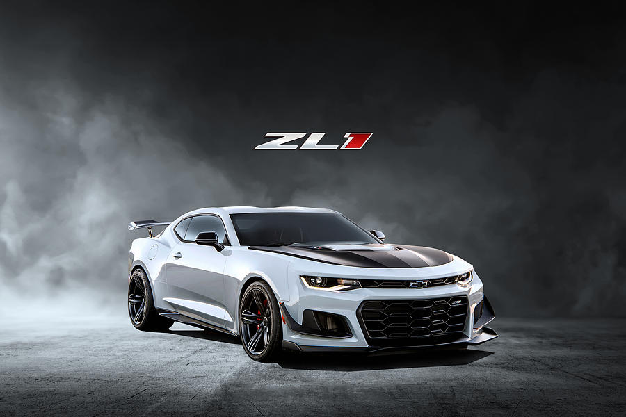 Chevy Digital Art - Camaro Thunder by Peter Chilelli