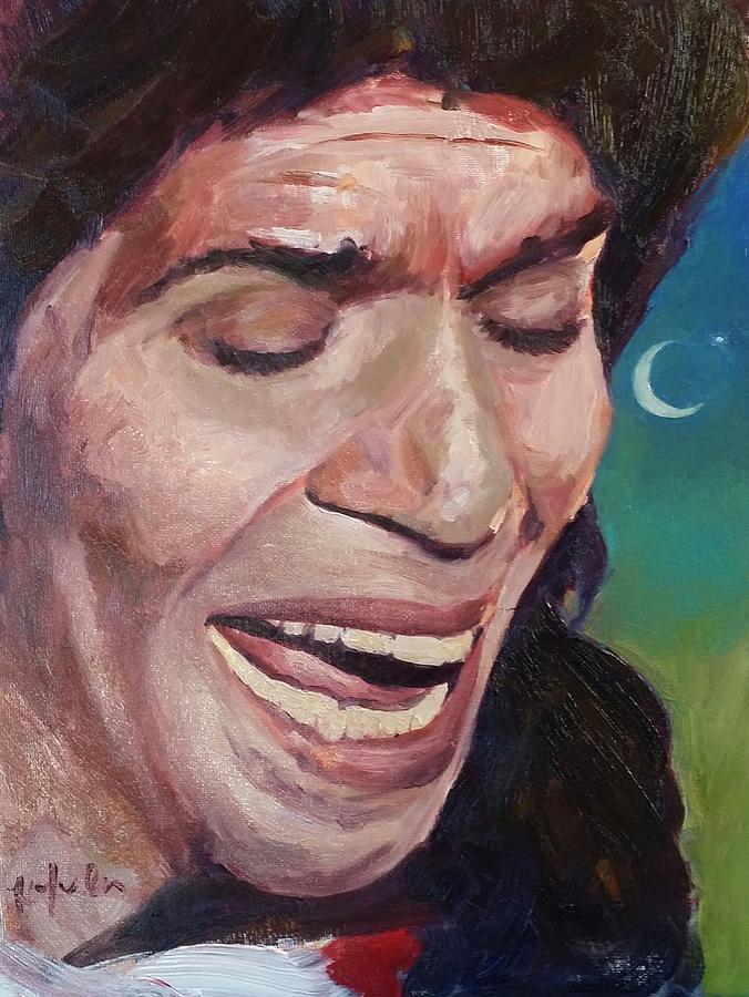 Flamenco Painting - Camaron De La Isla by Kevin Yuen