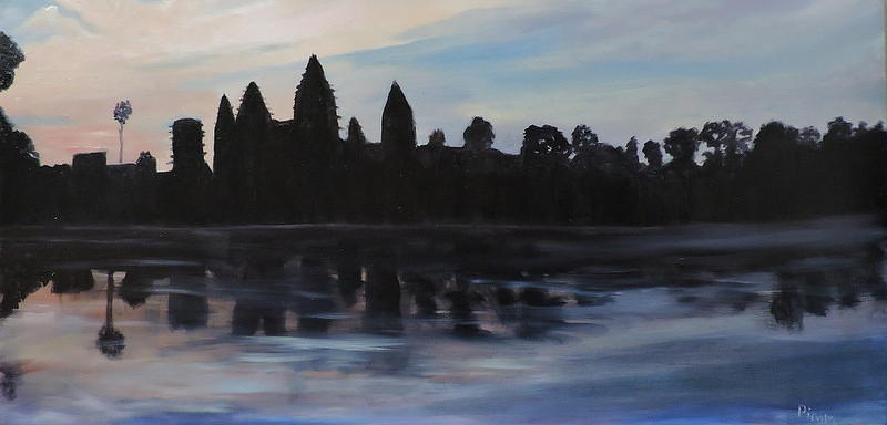 Cambodia Temples Painting