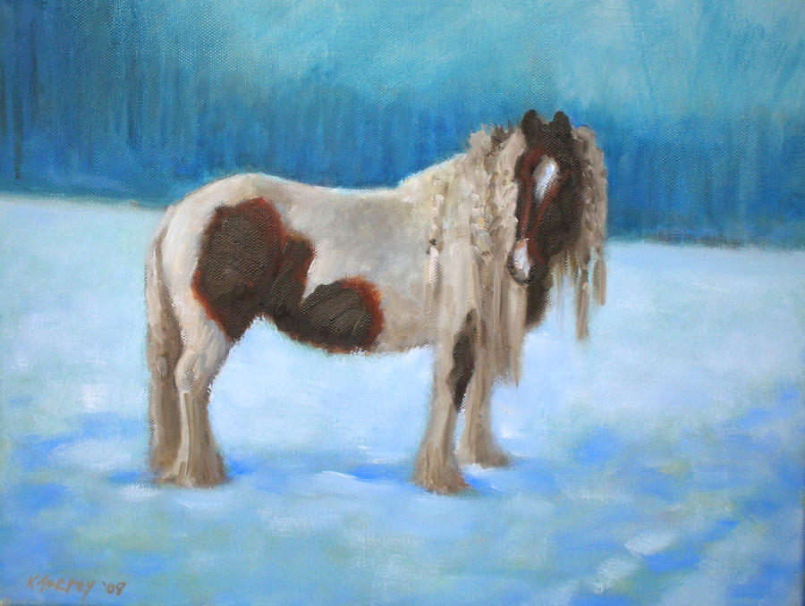 Horse Painting - Cambridge Horse by Katherine Torpey