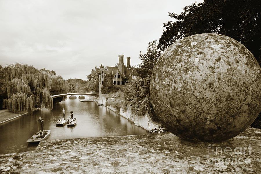 Cambridge Punting Sepia by Eden Baed