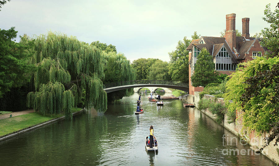 Cambridge River Punting by Eden Baed