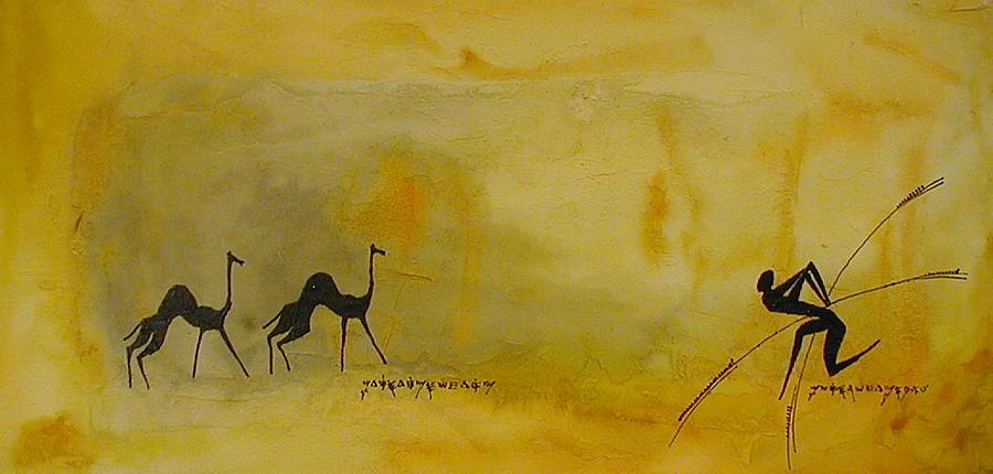 Camel Mixed Media - Camel by Max Sivan