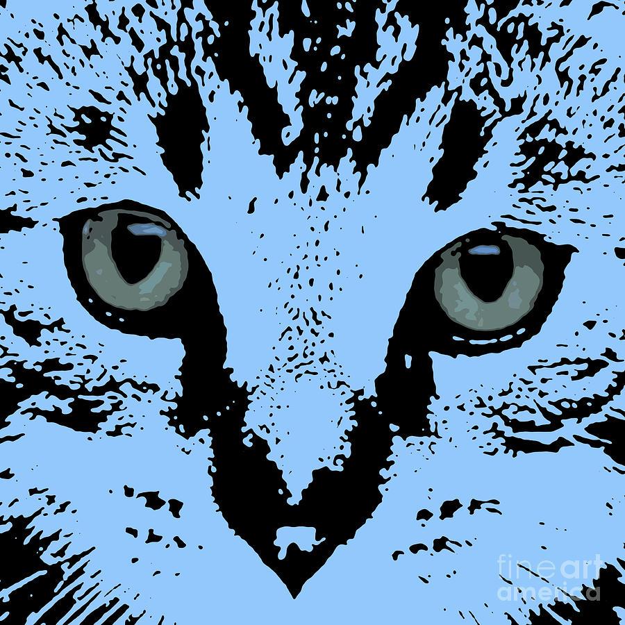 Kitten Digital Art - Camelot Portrait by Drawspots Illustrations