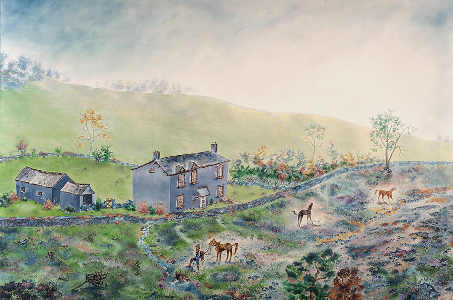 Horse Painting - Camelot by Richard Barham